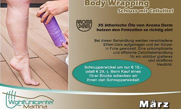 Monatsaktion März – Bodywrapping